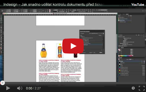 kontrola indesign